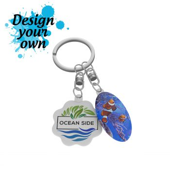 Key Ring Duo Flex Double